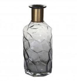 PTMD aqua grey glass bottle copper neck M