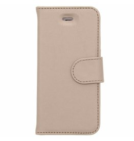 Wallet TPU Booklet iPhone 5 / 5s / SE - Gold