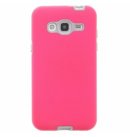 Xtreme Cover Samsung Galaxy J3 (2016) - Roze