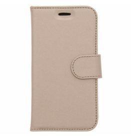 Wallet TPU Booklet Samsung Galaxy J1 (2016) - Goud