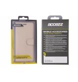 Gouden Wallet TPU Booklet voor de Samsung Galaxy S8