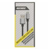 Fast Charging Micro-USB naar USB-kabel 2 meter - Zwart