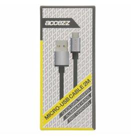 Fast Charging Micro-USB naar USB-kabel 2 meter