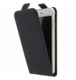 TPU Flipcase iPhone 8 / 7 - Zwart
