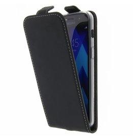 TPU Flipcase Samsung Galaxy A3 (2017) - Black