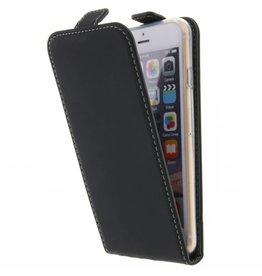 TPU Flipcase iPhone 6 / 6s - Zwart