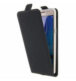 TPU Flipcase Samsung Galaxy J5 (2016) - Zwart