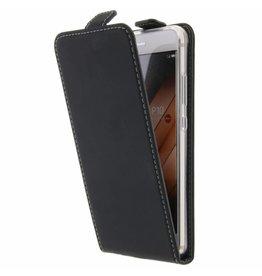 TPU Flipcase Huawei P10 - Black