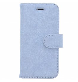 Glitter Wallet TPU Booklet iPhone 8 / 7 - Blue