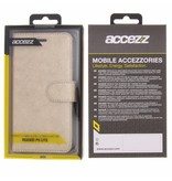Glitter Wallet TPU Booklet Huawei P9 Lite - Goud