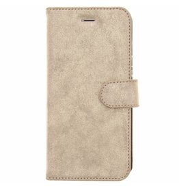 Glitter Wallet TPU Booklet iPhone 6(s) Plus - Goud