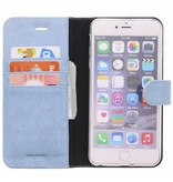 Glitter Wallet TPU Booklet iPhone 6(s) Plus - Blue