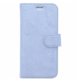 Glitter Wallet TPU Booklet Samsung Galaxy S7 Edge - Blauw