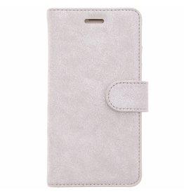 Glitter Wallet TPU Booklet Samsung Galaxy J5 (2016) - Silver