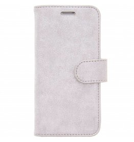 Glitter Wallet TPU Booklet Samsung Galaxy S7 - Silver