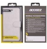 Glitter Wallet TPU Booklet Huawei P10 Lite - Zilver