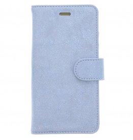 Glitter Wallet TPU Booklet Huawei P10 Lite - Blauw