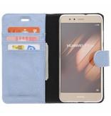 Glitter Wallet TPU Booklet Huawei P10 Lite - Blue