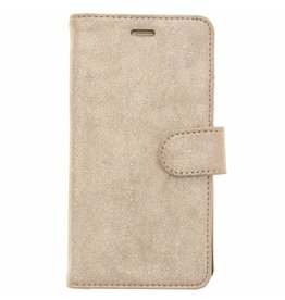 Glitter Wallet TPU Booklet Huawei P10 Lite - Gold