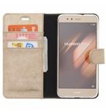 Glitter Wallet TPU Booklet Huawei P10 Lite - Gold