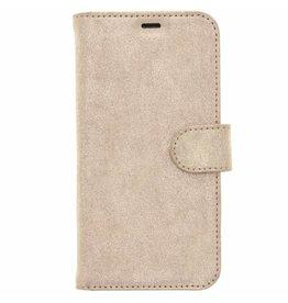 Glitter Wallet TPU Booklet Samsung Galaxy S8 - Goud