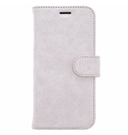 Glitter Wallet TPU Booklet Samsung Galaxy S8 - Silver