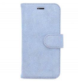 Glitter Wallet TPU Booklet Samsung Galaxy A3 (2017) - Blauw