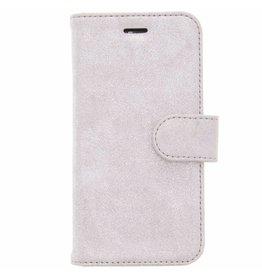 Glitter Wallet TPU Booklet Samsung Galaxy A3 (2017) - Silver