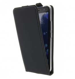 Flipcase HTC U 11 - Zwart