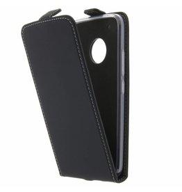 TPU Flipcase Motorola Moto X4 - Zwart
