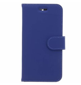 Wallet TPU Booklet Motorola Moto E4 - Blauw