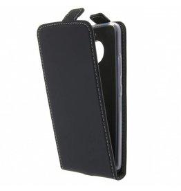 TPU Flipcase Motorola Moto E4 Plus - Zwart