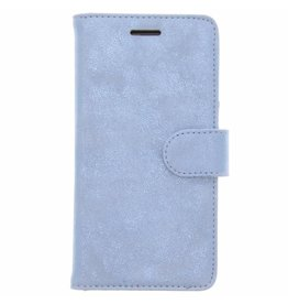 Glitter Wallet TPU Booklet Samsung Galaxy A5 (2017) - Blue