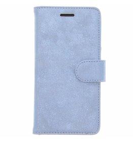 Glitter Wallet TPU Booklet Samsung Galaxy A5 (2017) - Blauw