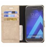 Glitter Wallet TPU Booklet Samsung Galaxy A5 (2017) - Goud