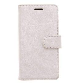 Glitter Wallet TPU Booklet Samsung Galaxy A5 (2017) - Zilver