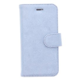 Glitter Wallet TPU Booklet iPhone 6 / 6s - Blauw
