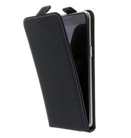 TPU Flipcase OnePlus 5 - Zwart