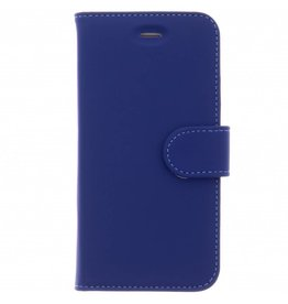 Wallet TPU Booklet iPhone 8 / 7 / 6s /6 - Blauw