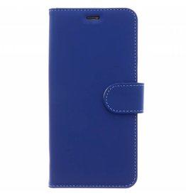 Wallet TPU Booklet Samsung Galaxy A8 (2018) - Blauw