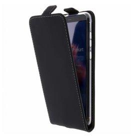 TPU Flipcase Huawei P Smart - Black