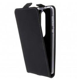 TPU Flipcase Nokia 6.1 - Zwart