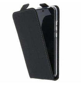 TPU Flipcase Huawei P20 Lite - Zwart