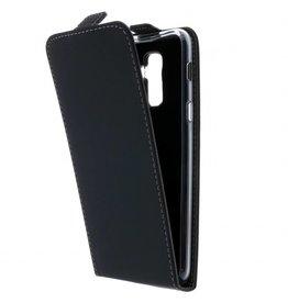 TPU Flipcase Samsung Galaxy A6 (2018) - Black