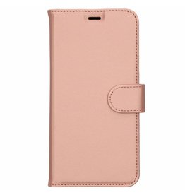 Wallet TPU Booklet Huawei Y7 (2018) - Rose Gold