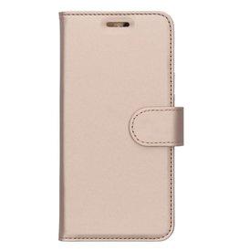 Wallet TPU Booklet Nokia 3 (2018) - Goud