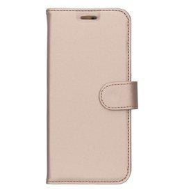 Wallet TPU Booklet Motorola Moto E5 - Gold
