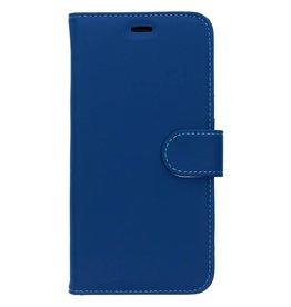 Wallet TPU Booklet Huawei Y6 (2018) - Blauw