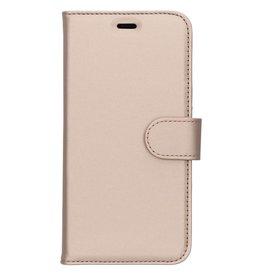Wallet TPU Booklet Huawei Y6 (2018) - Gold