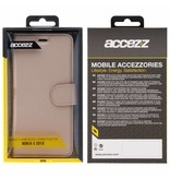 Wallet TPU Booklet Nokia 5 (2018) - Gold
